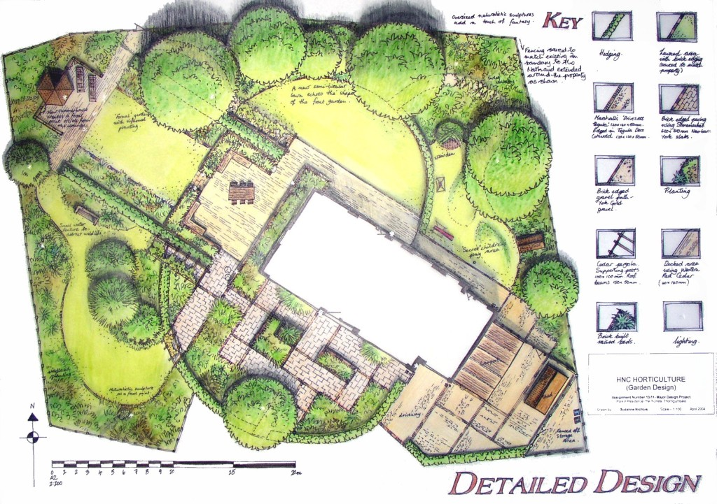 outstanding-green-square-modern-grass-garden-design-plans-decorative-mixed-plants-and-trees-ideas